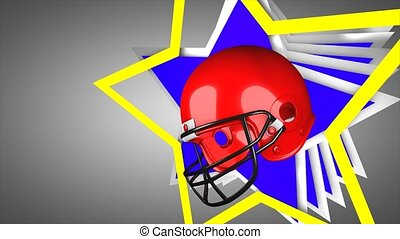 American football - Concept animation, American football