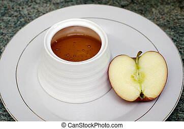 Judaism - Jewish New Year Rosh Hashanah - Traditional jewish...