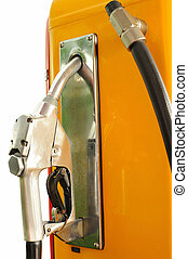Antique vintage gas pump - Antique vintage gas pump with...