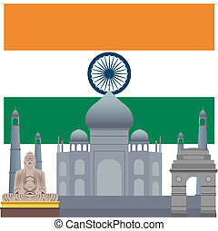 Architectural monuments of India