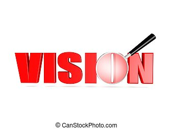 Vision - Rendered artwork with white background