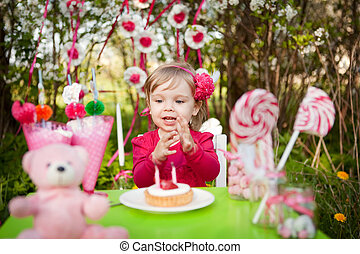 birthday of little girl