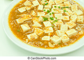 Chinese Sichuan food call Mala Tofu - Chinese Sichuan food...