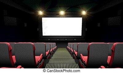 Cinema hall - Grant cinema hall.