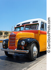 Old Maltese Bus (1952) - The nose part of an old Maltese bus...