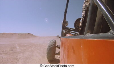 buggy in the desert - tour of the Sahara Desert on the buggy