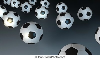 Bouncing ball - Soccer ball bouncing