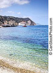 Santa Catalina Island Casino Bulding - Avalon Harbor red...