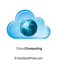 Cloud computing - cloud computing with the world inside over...