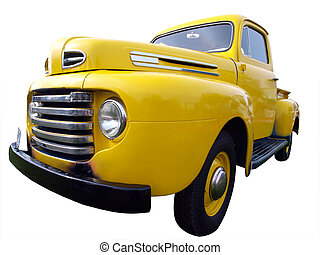 1942 Ford Bonus isolated with clipping path