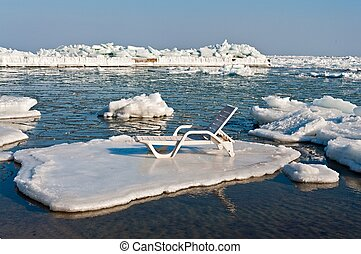Trestle Bed On a Floe. Photo taken in Odessa, Ukraine....