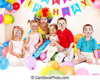 Child birthday party - Child happy birthday party