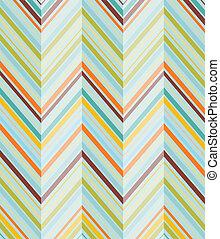 Diagonals - Turquiose