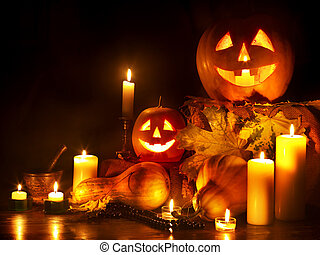 Halloween pumpkin lantern Decoration