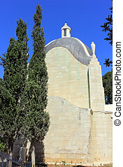 Church of Dominus Flevit in Jerusalem - The Church of...