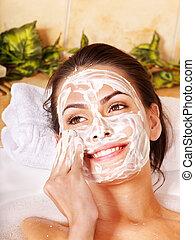 Natural homemade facial masks . - Natural homemade facial...