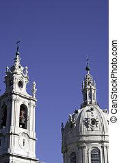 Estrela Basilica, Lisbon, Portugal - Detail of the Estrela...