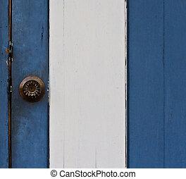 door knob - door with door knob