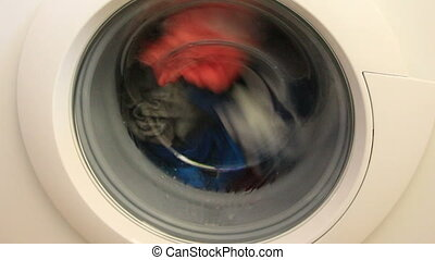 washing cicle - washing machine operating