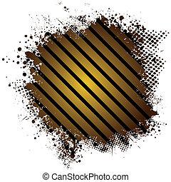 golden splat stripe