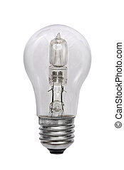 Halogen bulb Isolated image with white background