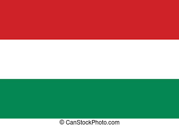 Hungary flag - Vector national Hungary flag