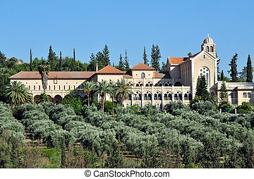 Travel Photos of Israel - Latrun - The Monastery of...
