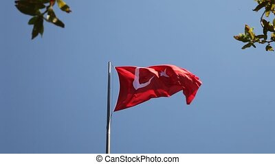Turkish Flag - sphinx rock, Gallipoli, Lone Pine, War, Anzac...