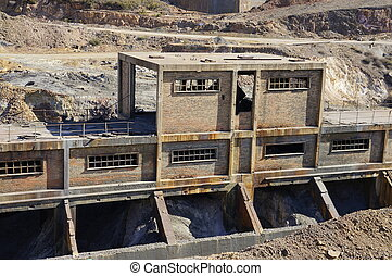 The industrial history of Spain - Abandoned mine workshops...
