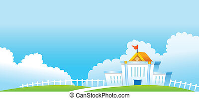 Government Building - This illustration is a common natural...