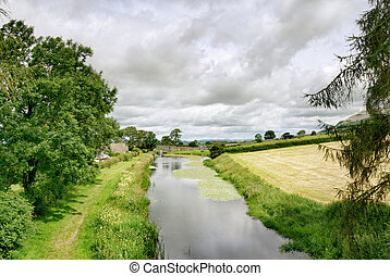 Lancaster Canal at Holme - A peaceful tree lined stretch of...