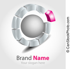 Vector brand logo - Originally designed vector brand logo