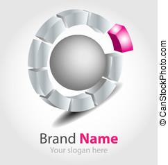 Vector brand logo - Originally designed vector brand logo