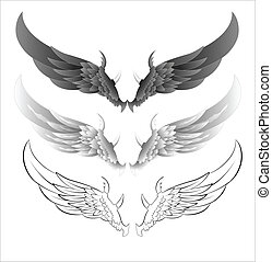 Wings Vector Illustrations