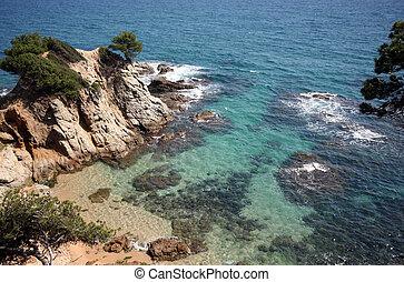 Mediterranean sea - Photo of the mediterranean sea the top...