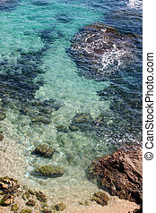 Mediterranean sea - Photo of the mediterranean sea the top...