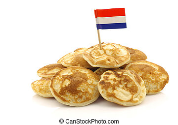 pancakes called quot;poffertjesquot; - freshly baked...