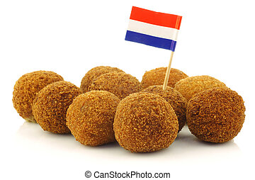 Dutch snack called quot;bitterballenquot; - A real...