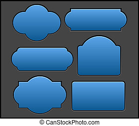 Tags and Banners Vectors