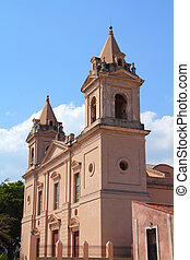 Matanzas, Cuba - city architecture. Church of Saint Peter...