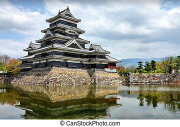 Matsumoto, Japan - town in Nagano prefeture of the region...