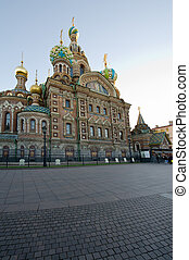 Church of the Savior on Blood. St. Petersburg. Russia