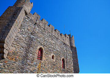 Fort Castillo - Detailed view of Top of Antique Fort...