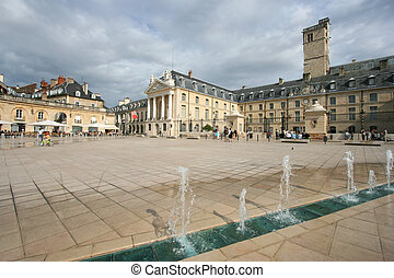 Dijon - Liberation Square and the Palace of Dukes of...