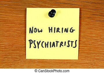 Psychiatry career