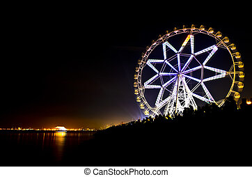 Ferris Wheel by the bay, a Philippine of The London Eye