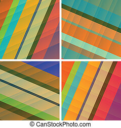 contemporary bg - fine set of royalty free abstract...