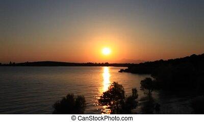 sunrise - beysehir lake, konya