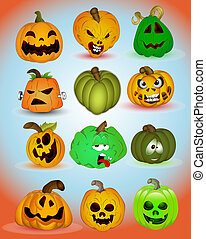 Spooky Halloween Vectors - Abstract Conceptual Creative...