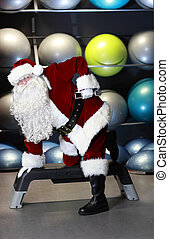 Santa Claus fitness program